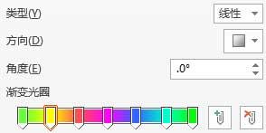 PPT制作荧光字效果的方法