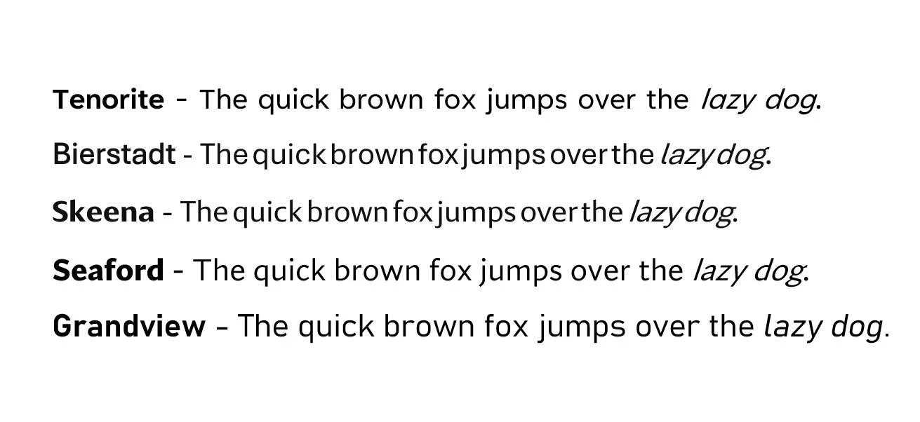 微软正计划i改变默认的Office字体 并希望你帮着挑选一个新的字体