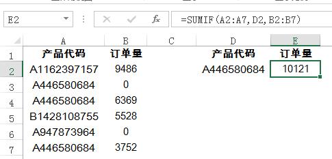 Excellookup函数实例:lookup函数精确查找对应数据
