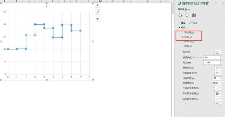 excel折线图怎么做
