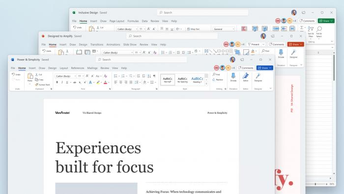 微软已向所有Insider测试者开放Office for Windows的新视觉体验