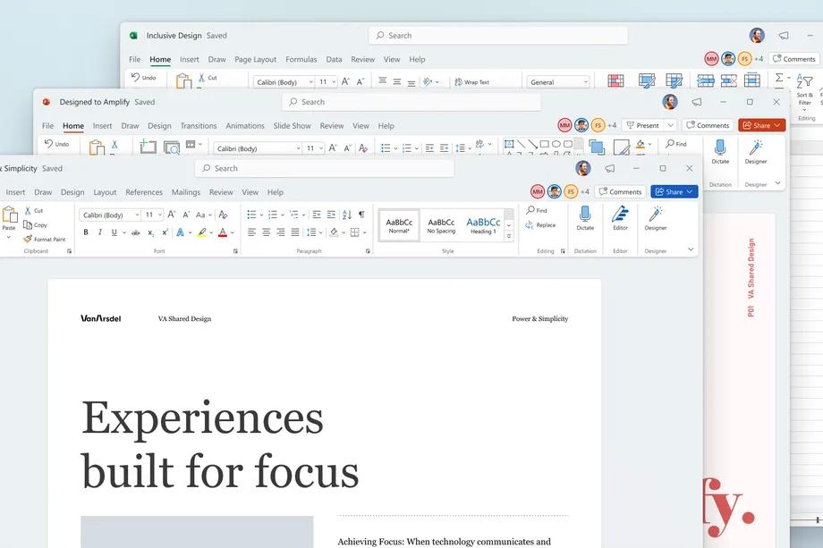 微软的新Office用户界面现在可供测试者使用